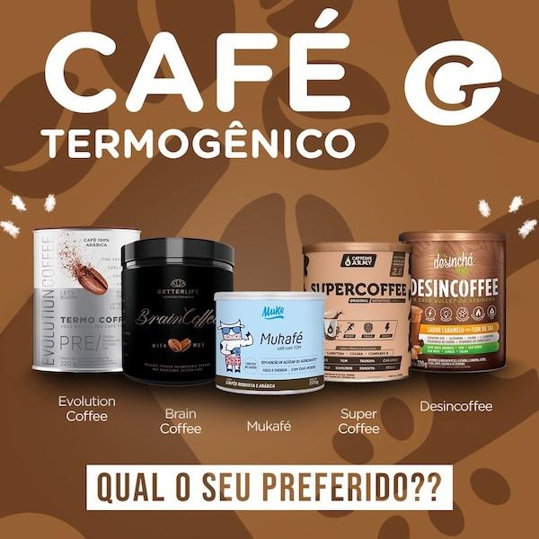 cafés termogenicos